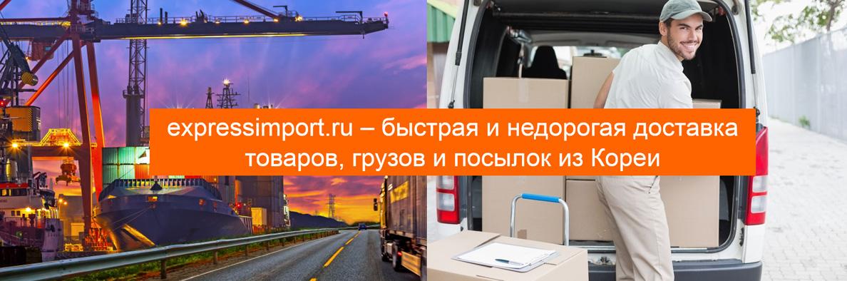 Доставка из Южной Кореи в Россию: грузы, посылки, товары
