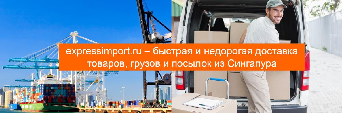 Доставка посылок, товаров, грузов из Сингапура в Россию