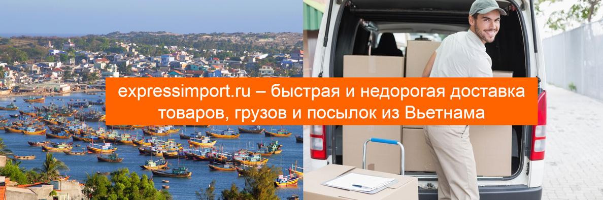 Доставка товаров и грузов из Вьетнама в Россию